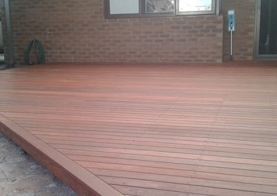 Alfresco Deck Area 2