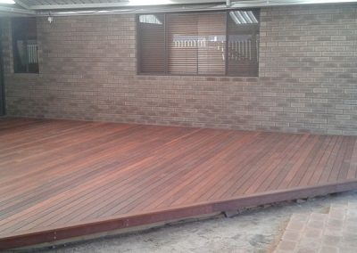 Alfresco Decking Area