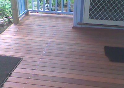 Back Porch Deck Area