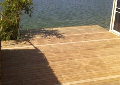 Deck Overlooking Waterway