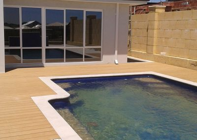 Decking Around Pool 2