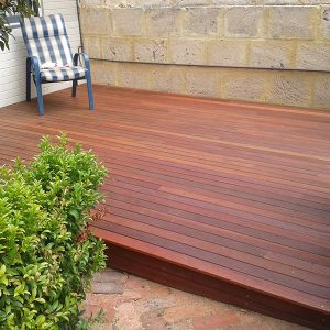 Outdoor Area With Decking from Side