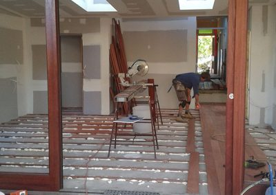 internal wall and door installation