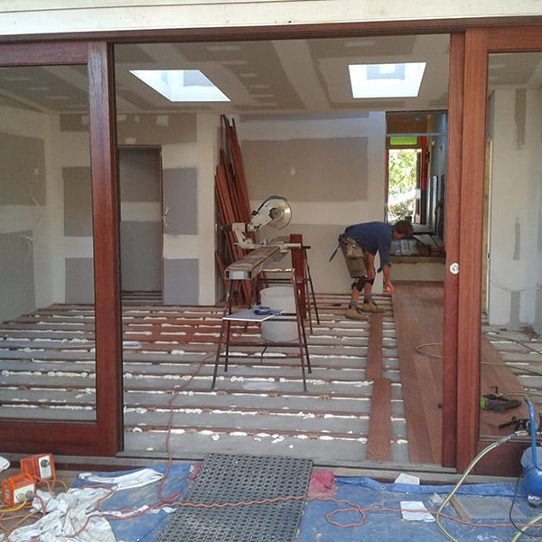 Internal Doors Being Installed