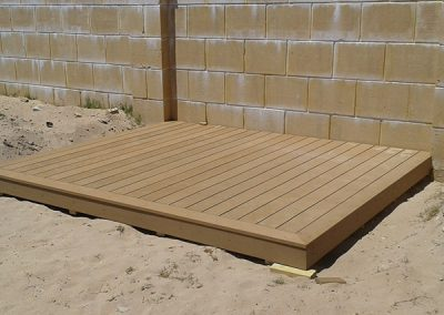 Light Brown Decking Area2