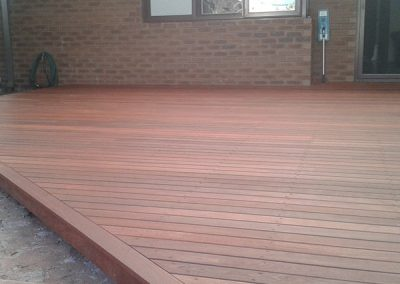 Alfresco Deck with Paving