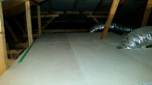 attic storage floor
